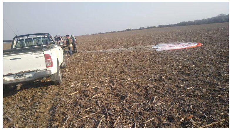 Se estrelló un avión de la Fuerza Aérea y murió el piloto