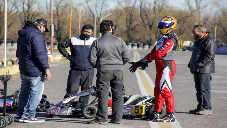 Urcera volvió a las pistas en Cipolletti