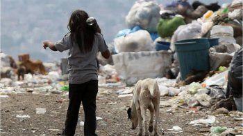 Al terminar el 2020, el 63% de los niños será pobre en el país