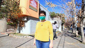 Por la pandemia, su casa fue un hostel durante 140 días