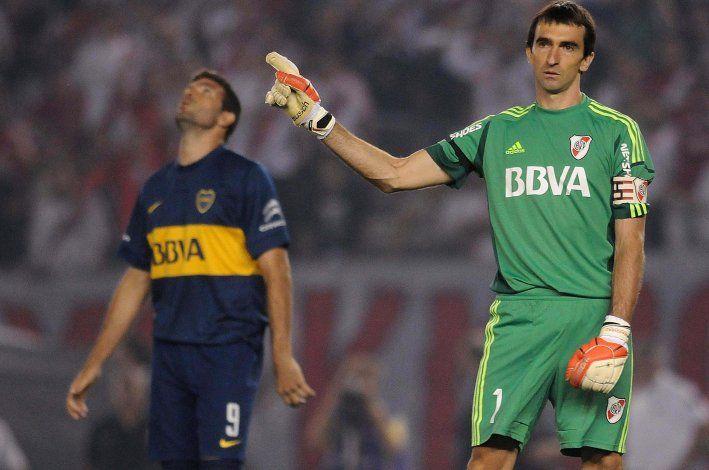 Barovero quedó en la historia del River de Gallardo con un penal clave que cambió la historia con Boca.