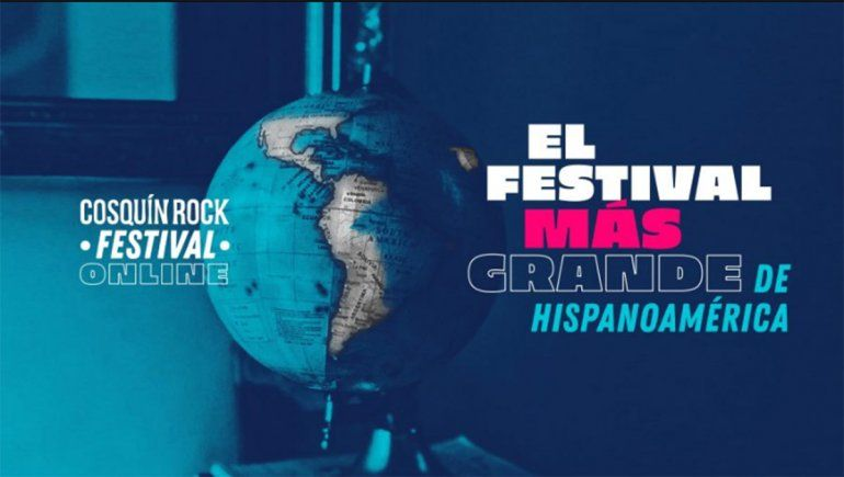 El próximo fin de semana se llevará a cabo el festival virtualdel Cosquín Rock