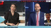 el fiscal teran violento en vivo a una periodista y sumo repudio nacional