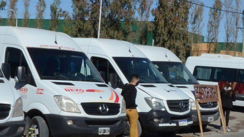 El transporte pide ayuda económica y volver a trabajar