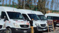 el transporte pide ayuda economica y volver a trabajar