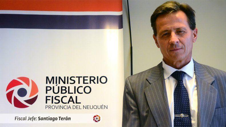 Jury en puerta para el fiscal Santiago Terán