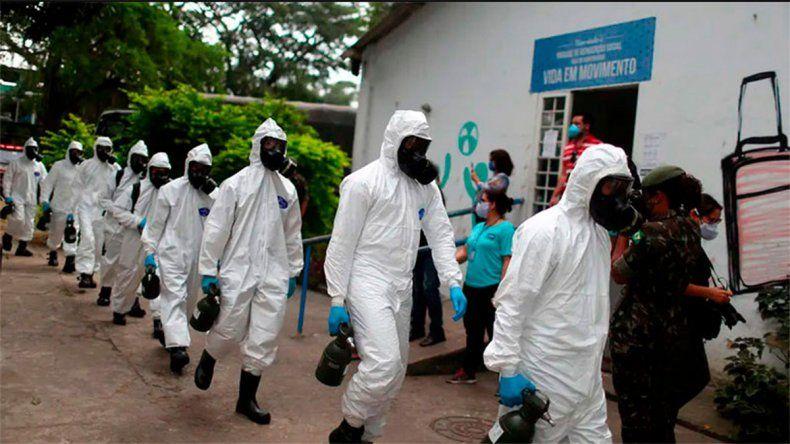 Brasil se acerca a los 3 millones de contagios