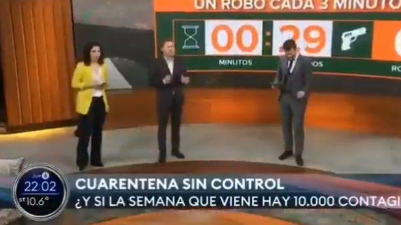 El gesto de Diego Leuco que provocó indignación en las redes