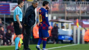 Messi y Setién se juegan todo en la Champions.