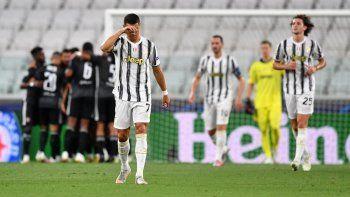 El lamento de Ronaldo por la eliminación.