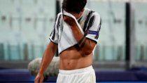 El dolor de Dybala por la eliminación de la Champions.