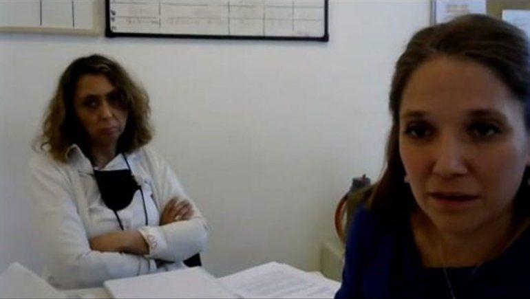 La teoría del caso fue presentado por la fiscal María Eugenia Titanti, junto a la fiscal de Violencia de Género, Carolina Mauri