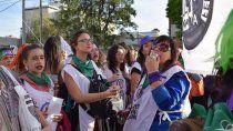 mujeres judiciales van a un paro en repudio a teran