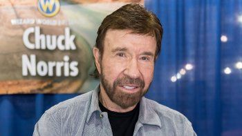 Chuck Norris reapareció en la TV tras años de estar retirado de los flashes ¡Video!