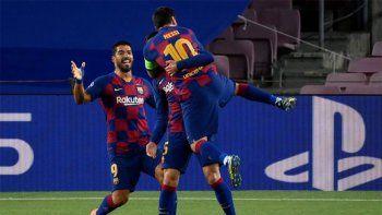 Barcelona derrota a Napoli y asegura el pase a cuartos
