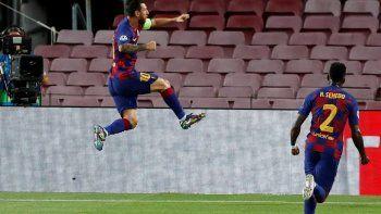 Messi los tiene de hijo a todos en la Champions.
