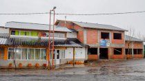 los miches: avanza la obra de ampliacion del edificio municipal