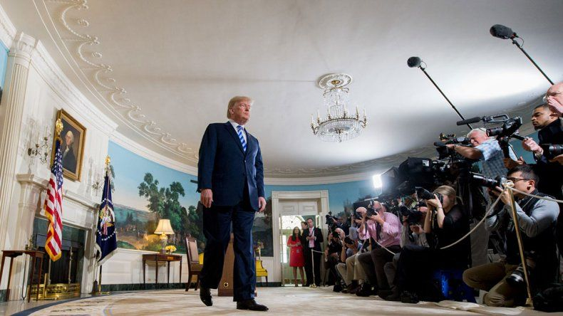 Trump dice que acordará con los iraníes
