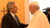 alberto llamo al papa para agradecerle su gestion con bonistas