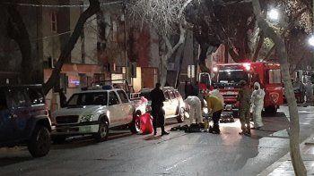 se incendio un hotel que alojaban repatriados: hay un muerto