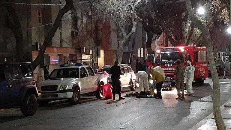 Se incendió un hotel que alojaban repatriados: hay un muerto