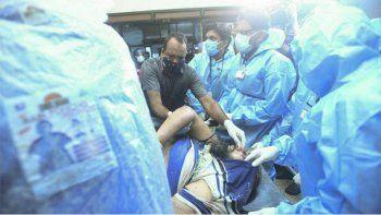tragedia en india: cayo un avion y murieron 18 repatriados
