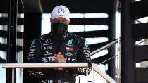 Valtteri Bottas hizo referencia al tercer lugar que consiguió en Silverstone y además contó cómo lo complicó el desgaste del neumático.