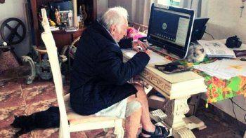brasil: abuelo de 92 anos estudia online para recibirse de arquitecto ¡ejemplar!