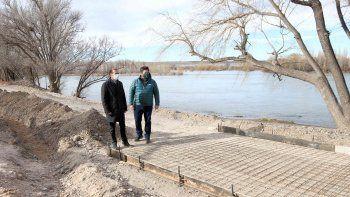 Las obras del paseo costero estarán para el aniversario de la ciudad