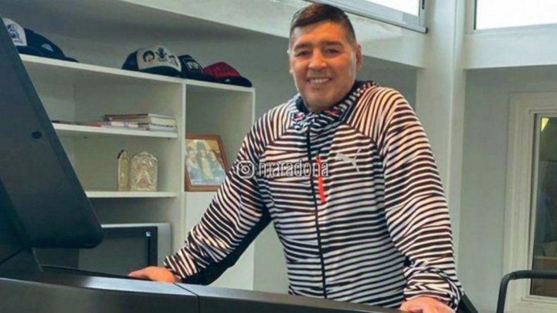 Maradona: test negativo y una sorprendente mejora física
