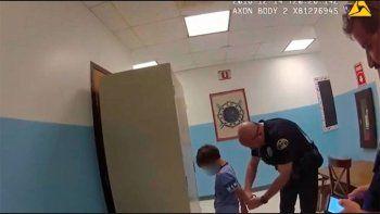 la policia arresto a un nino de 8 anos y con discapacidad