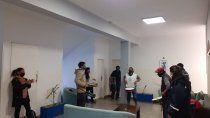 municipales tomaron el corralon y el edificio comunal en centenario