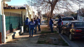 El domicilio del sospechoso fue allanado por efectivos de Seguridad Personal.