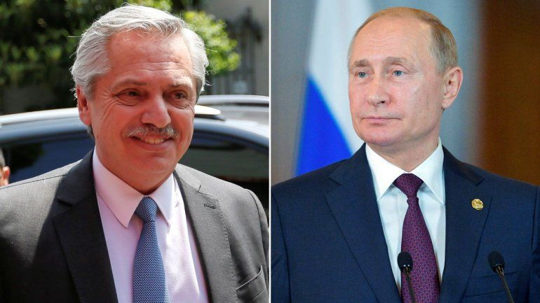 Alberto Fernández le envió una carta a Putin para felicitarlo por la vacuna
