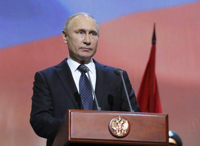 Putin será uno de los candidatos a recibir el premio Nobel de la Paz.