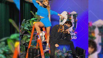 Yatra y Danna Paola ya bailan juntos en Miami