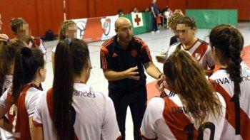 river echo a un entrenador acusado de abuso sexual