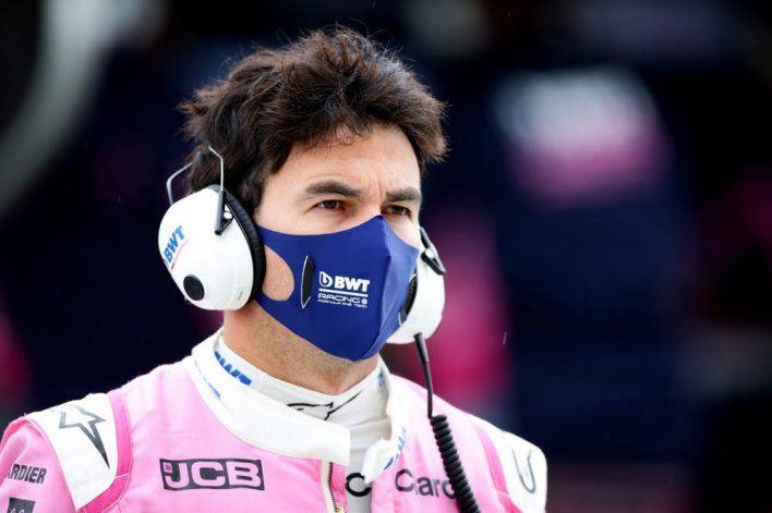 Sergio Pérez se curó del Coronavirus y fue habilitado por la FIA para que puede participar en la sexta cita de la Fórmula 1