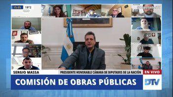 En vivo: Katopodis expone en la comisión de Obras Públicas
