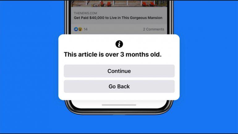 Facebook intenta que las noticias compartidas sobre el coronavirus en la red sean confiables.