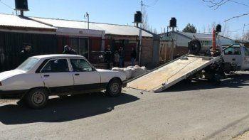 Los delincuentes fueron atrapados en barrio Progreso, de Cutral Co.