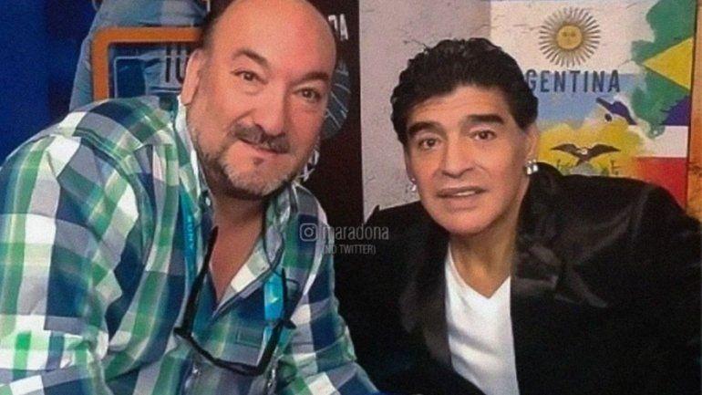 La emotiva y genial anécdota de Maradona con el fallecido Turco Wehbe