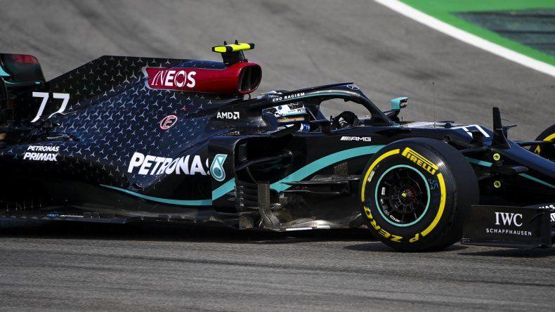 Valtteri Bottas fue la referencia del primer día de actividad de la Fórmula 1 en el circuito de Barcelona