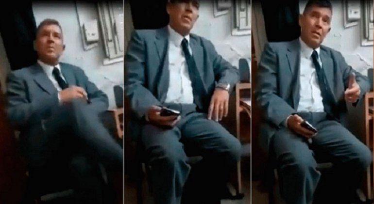 Suspenden a dos jueces que fueron filmados cobrando coimas