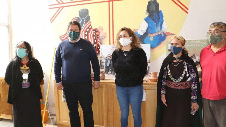 Gaido creó el Área de la Mujer Mapuche en el Municipio