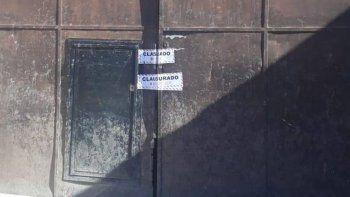 plottier: clausuran un deposito ilegal de mercaderias