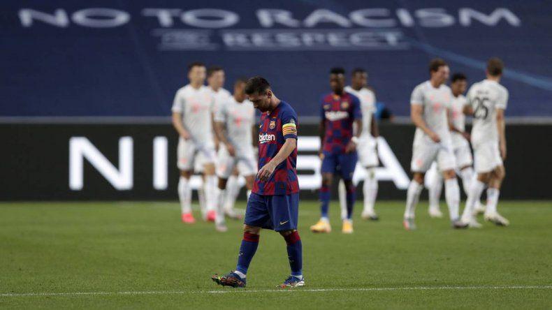 ¡Paliza histórica! Bayern Munich goleó 8  a 2 a Barcelona