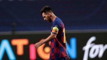 La peor derrota en la carrera de Messi y fin de ciclos en Barcelona