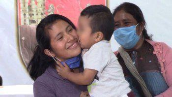 mexico: hallan a bebe que llevaba raptado un mes y medio