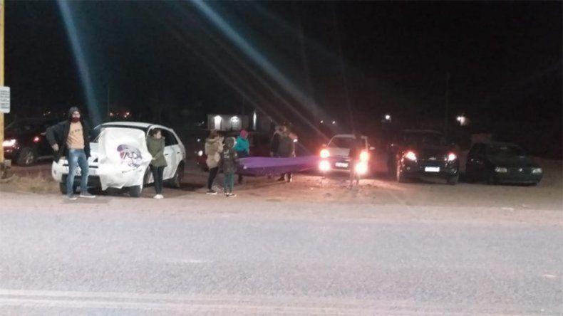 Emotivo: Peluche volvió a Rincón y lo recibieron en caravana